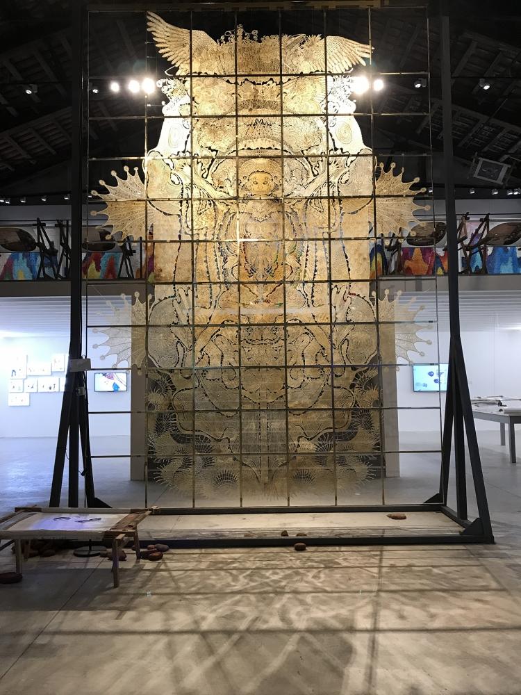 邬建安参加《不息-第57届威尼斯国际艺术双年展中国馆上海站》