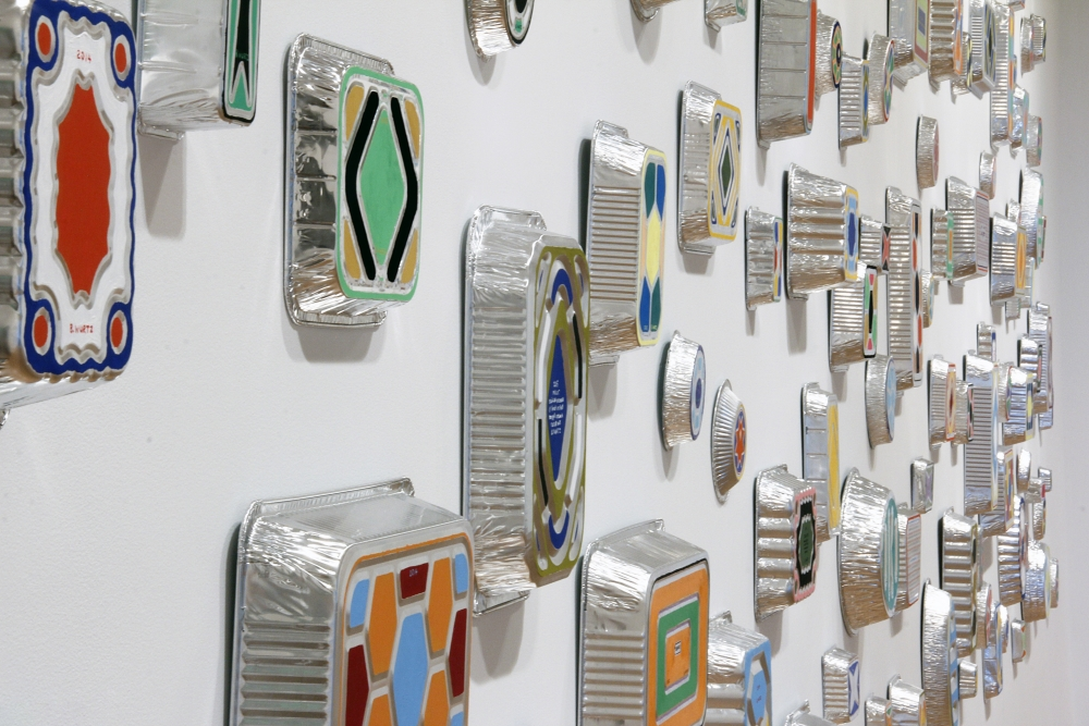 Installation view of B. Wurtz: Four Collections at Aldrich Contemporary Art Museum, Ridgefield, Connecticut.