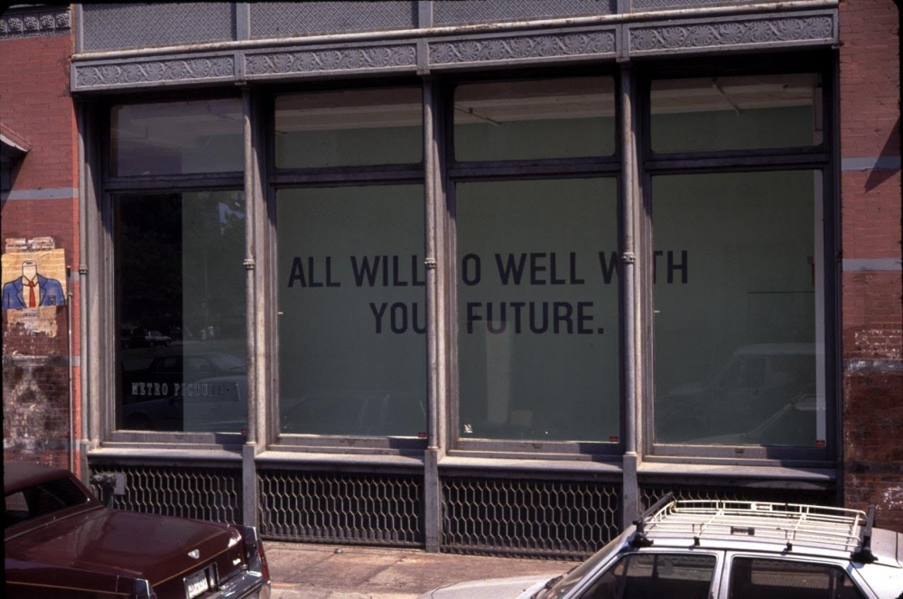 Storefront view of Metro Pictures