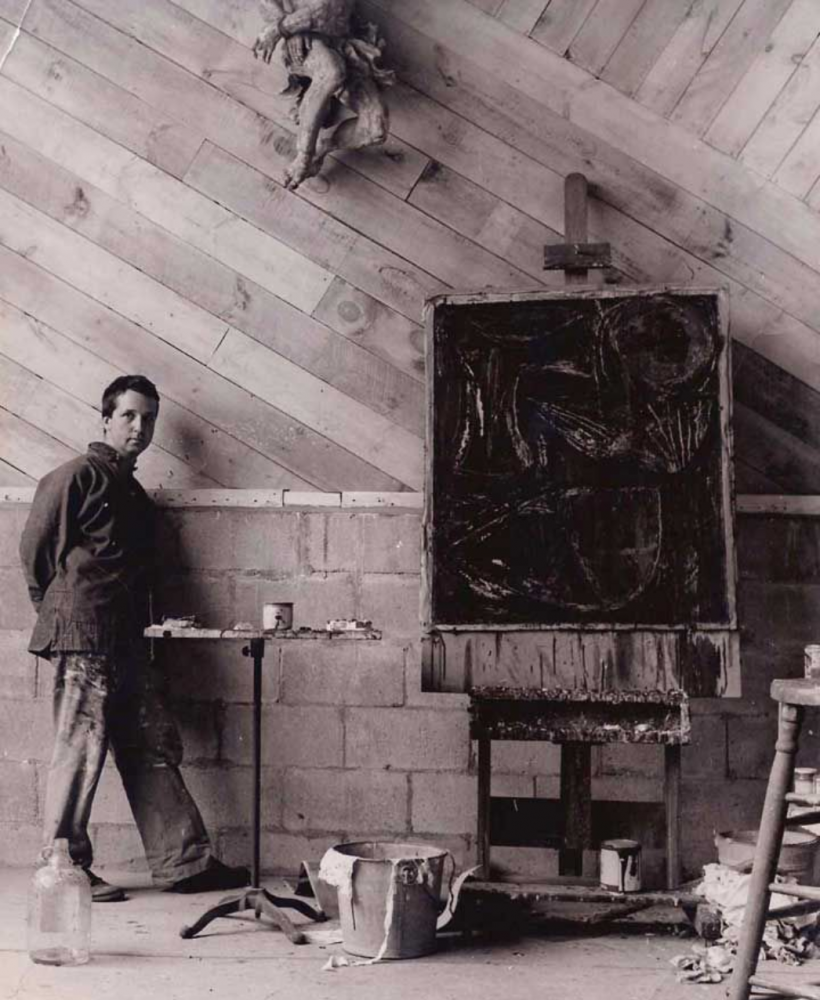 Exhibit is a chance to rediscover the abstract art of native son Fritz Bultman