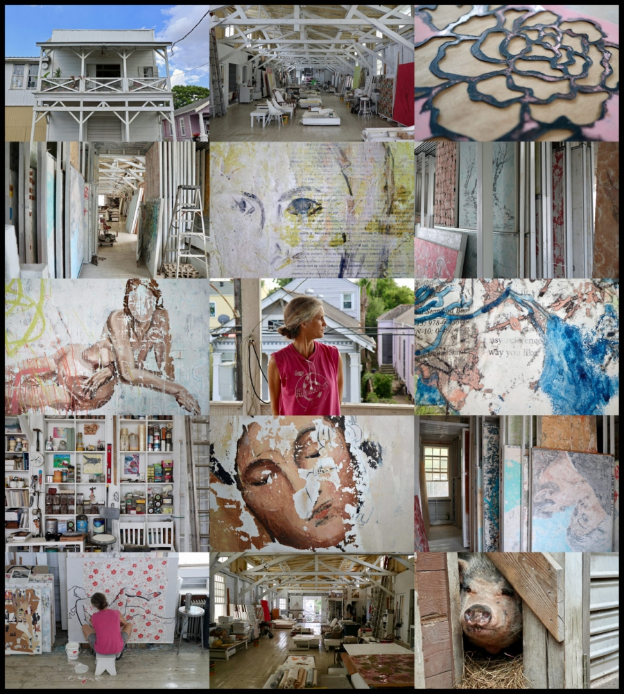Portrait of a Creative Space: The Studio of Nicole Charbonnet