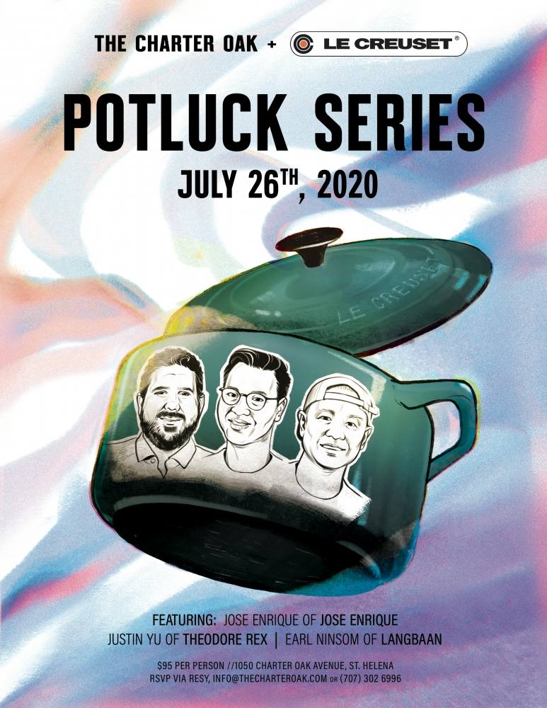 GUEST CHEF POTLUCK JULY 26