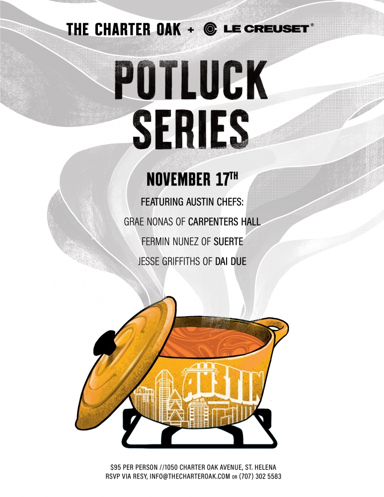 Guest Chef Potluck Dinner November 17