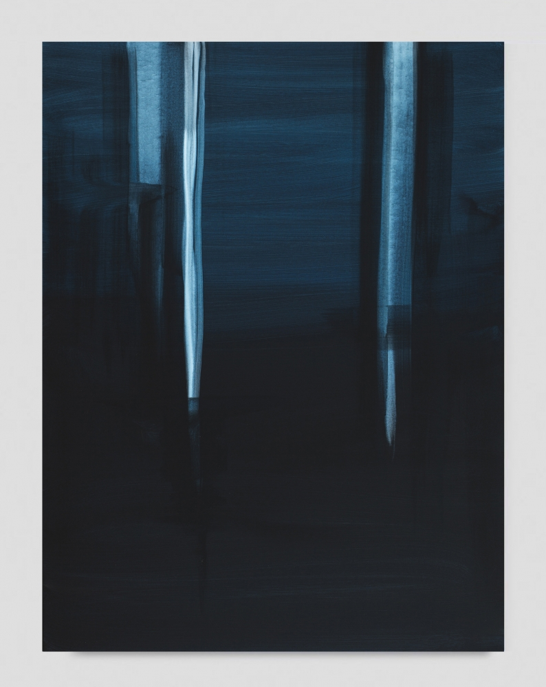 "Wanda Koop, ""Reflect (Midnight Blue),"" 2019"