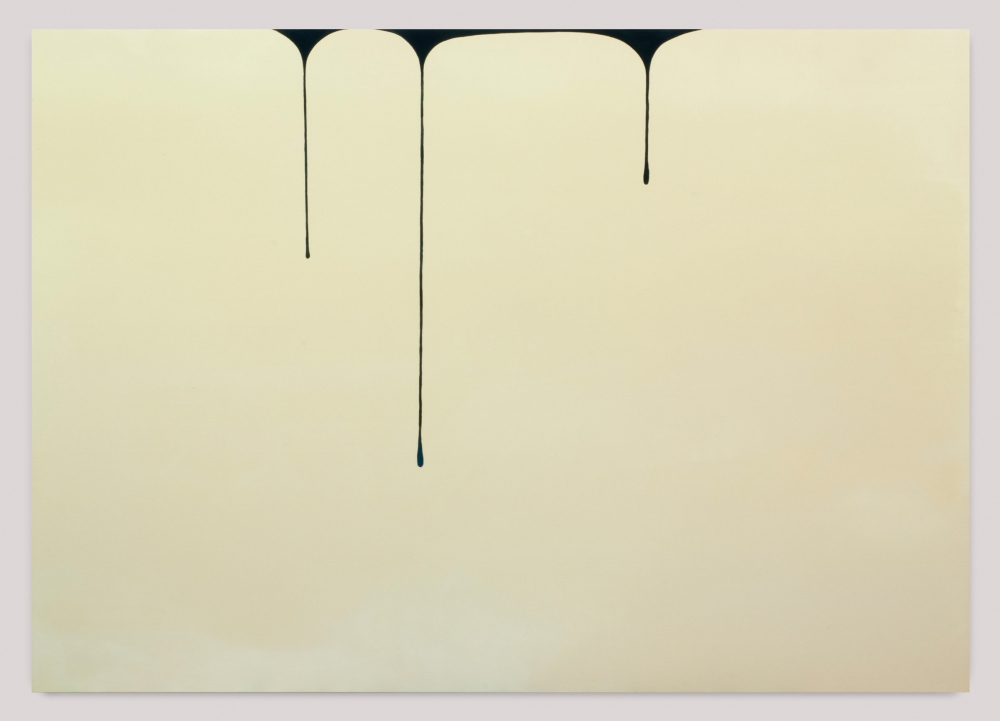 """Spill (Cream-Blue Black),"" 2013"