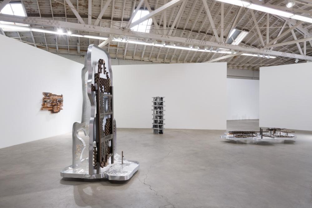 Installation view, Earthflash, 2018.