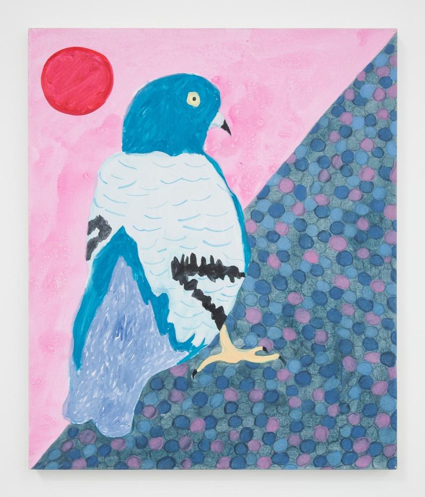 """Tyson Reeder, """"Pigeon,"""" 2018"""