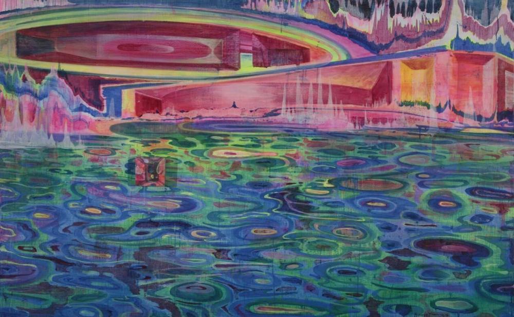 """Huang Yuxing, """"Aquarium,"""" 2016"""