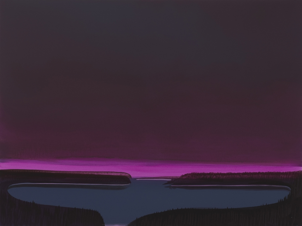 """Deep Bay (Magenta basin),"" 2007"