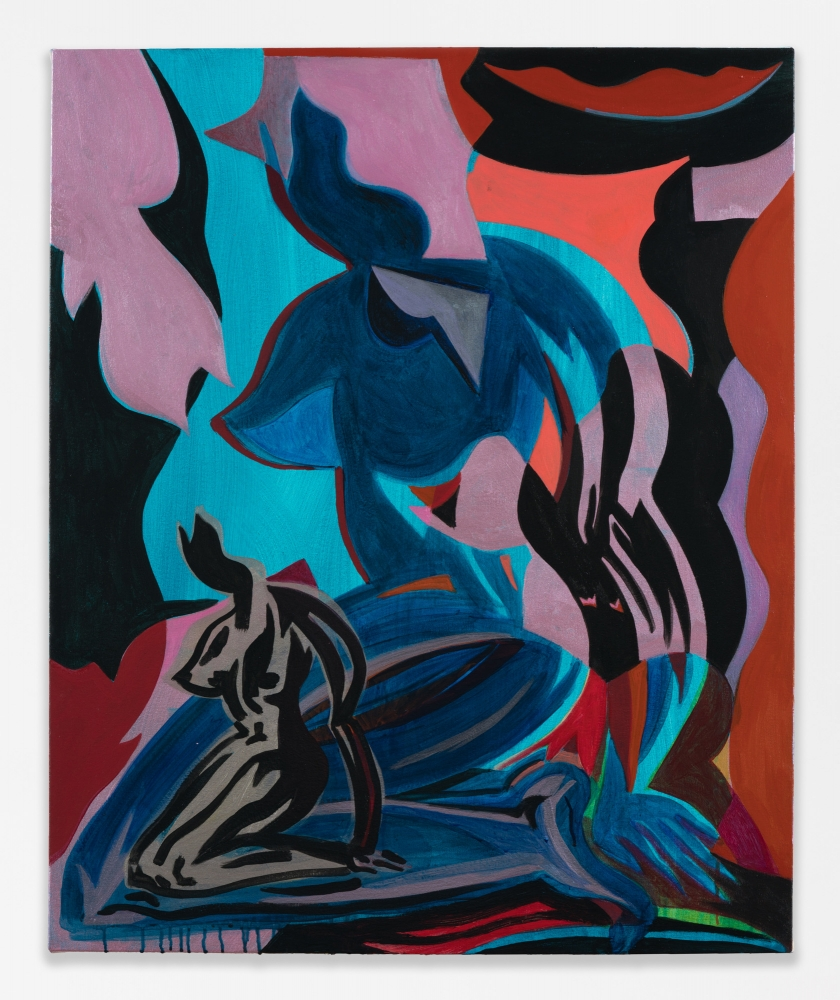 "Mira Dancy, ""Herfume x Herfuel (Blue),"" 2018"