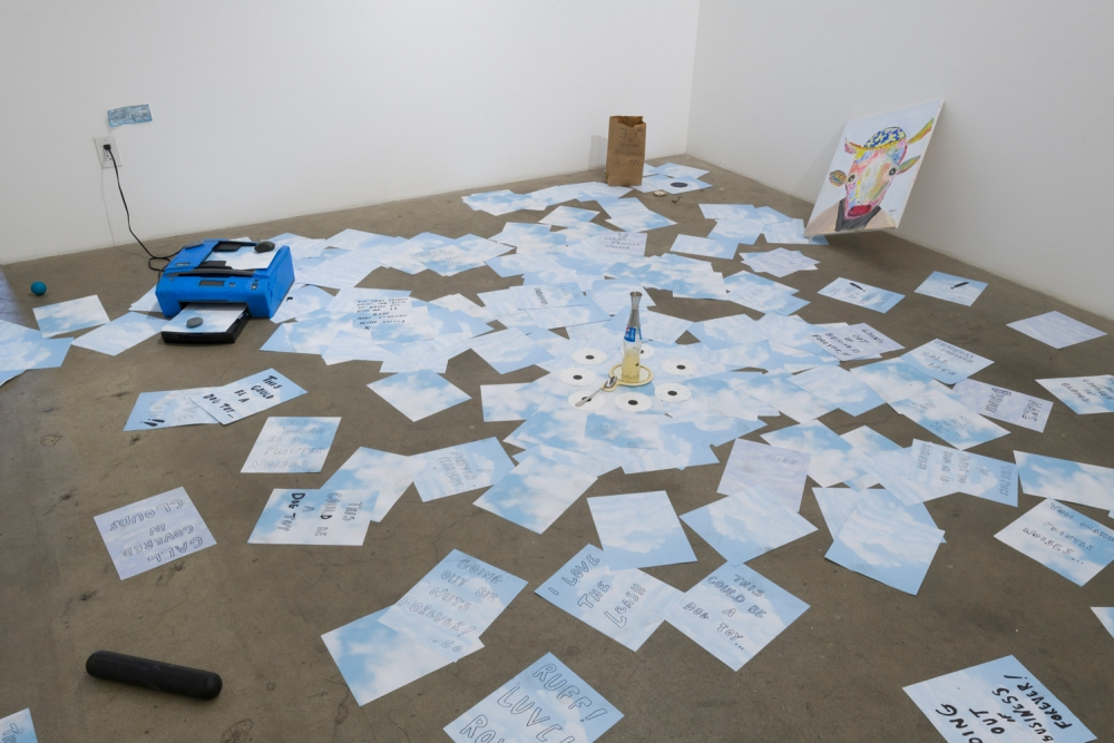 Elizabeth Sonnenberg, Hole in the Sky, installation view, 2018.
