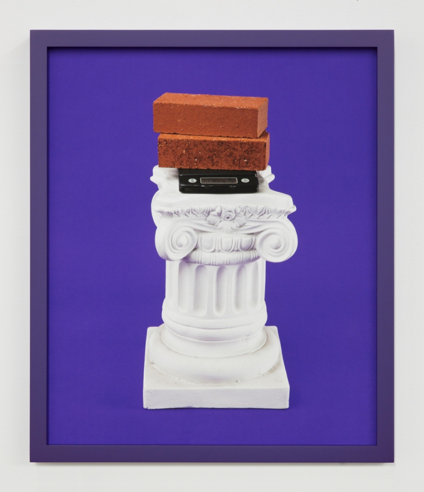 "Awol Erizku, ""A1 Bricks,"" 2016"