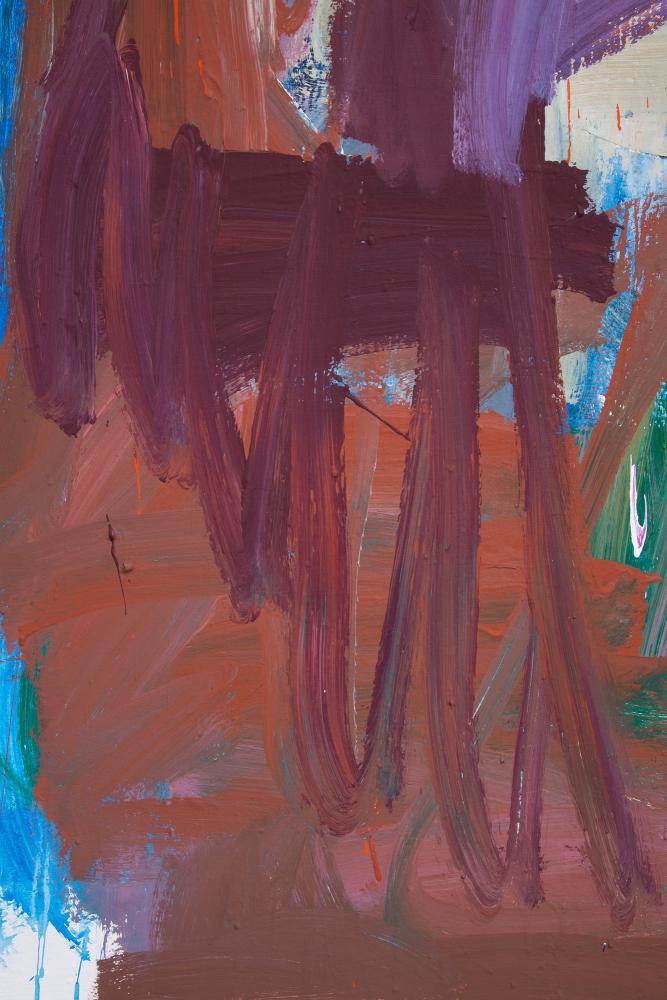 "Detail, ""Dark Spring,"" 2018"