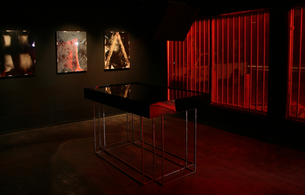 Darkroom, Installation view, 2011