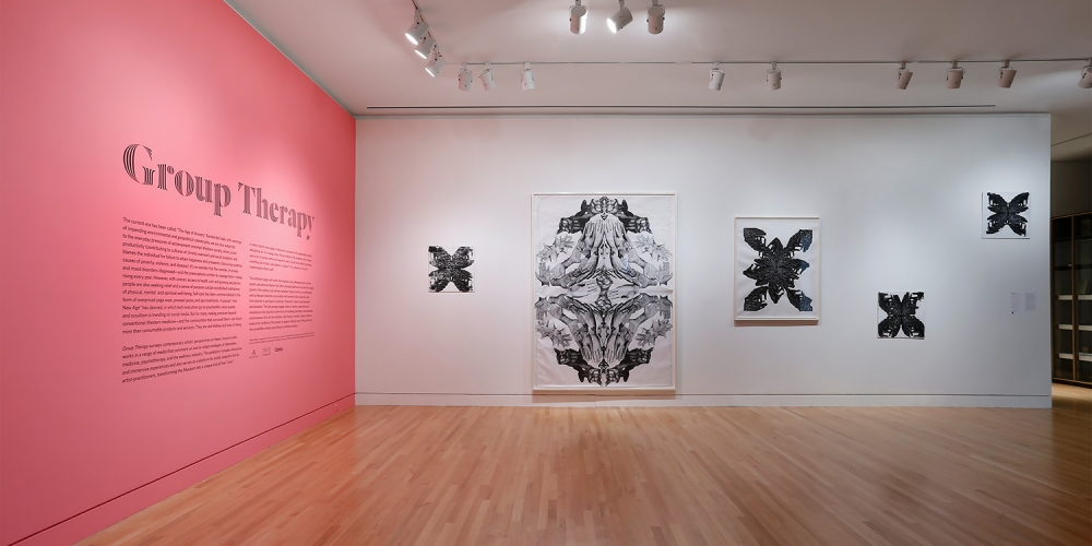 Group Therapy, Installation view, Frye Art Museum, 2018