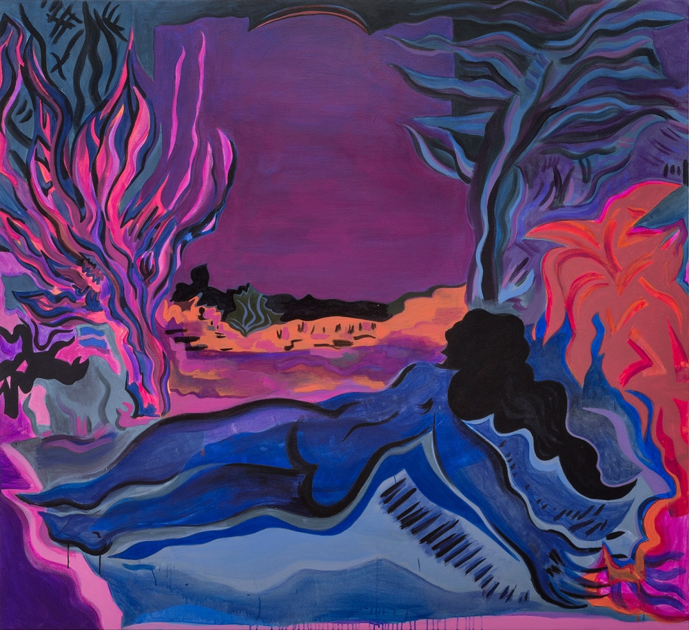 "Mira Dancy, ""Cold Ground,"" 2015"