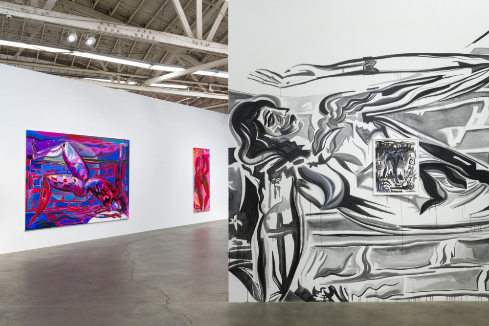 Installation view, High Hell, 2018.