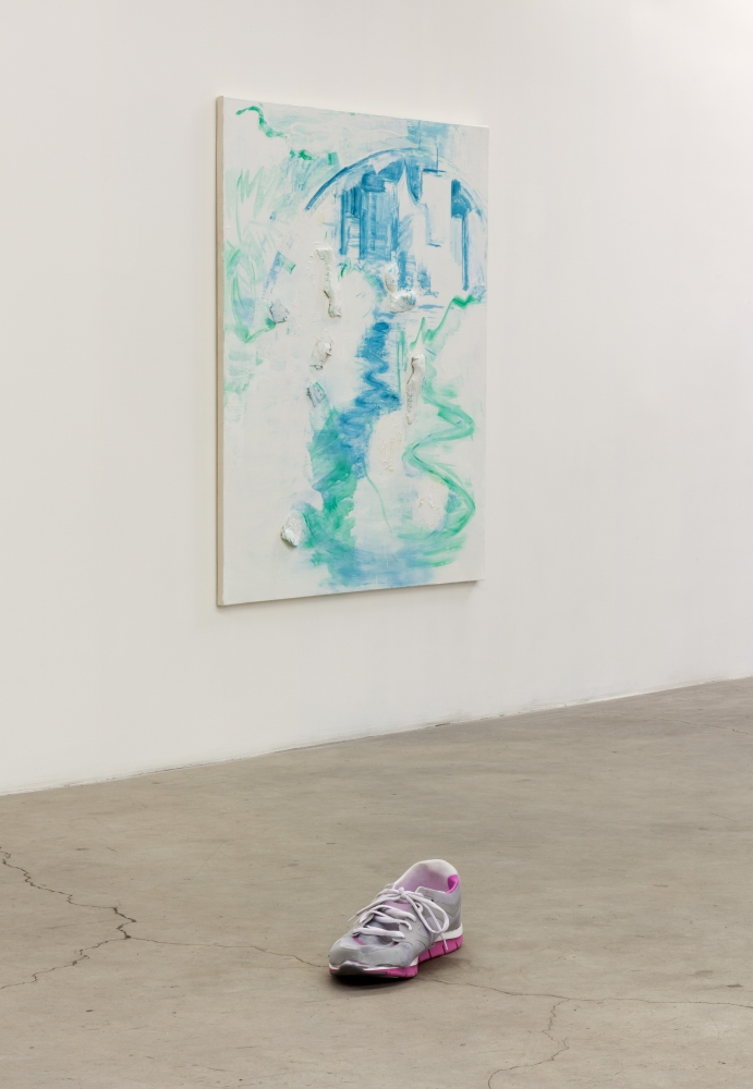 Installation view, Skechers Shape-Ups​, 2013.