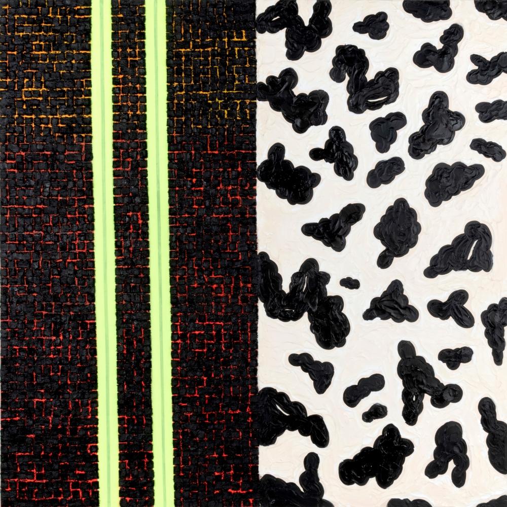 "Vaughn Spann, ""Dalmatian No. 6 (Desert Storm),"" 2018"