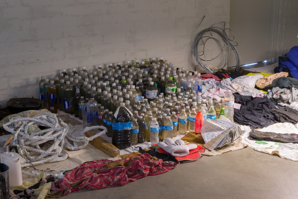 JPW3, Drifting the Bog, installation view, 2017