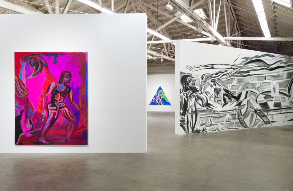 Installation view, High Hell, 2018