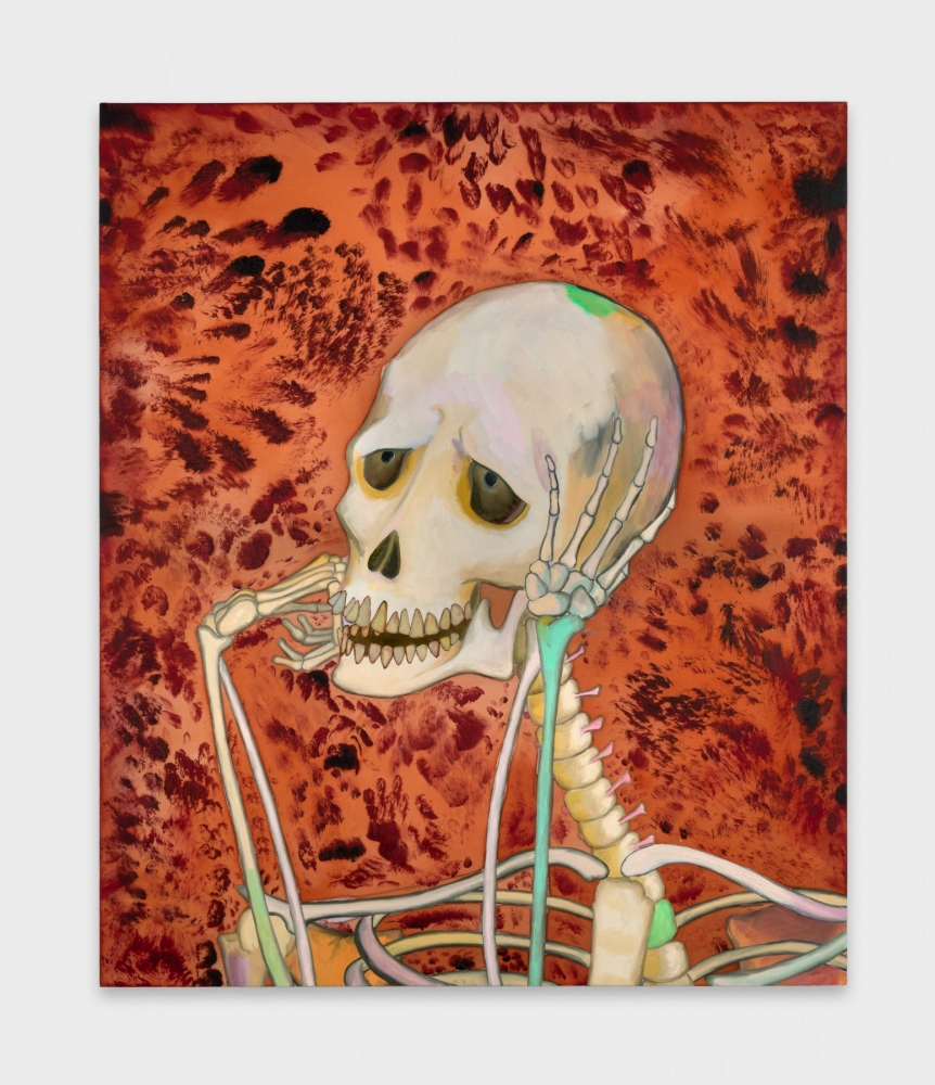 """Skeleton Daydreaming,"" 2018"