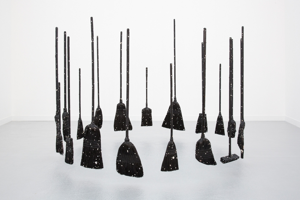 "Paul Heyer, ""Model of the Universe(s) as Brooms,"" 2018"