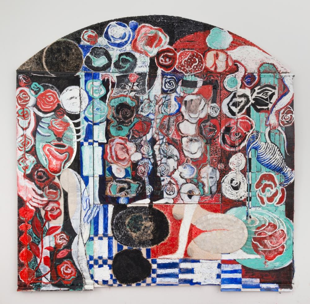 """Anna Rosen, """"Mirage Bed,"""" 2017"""