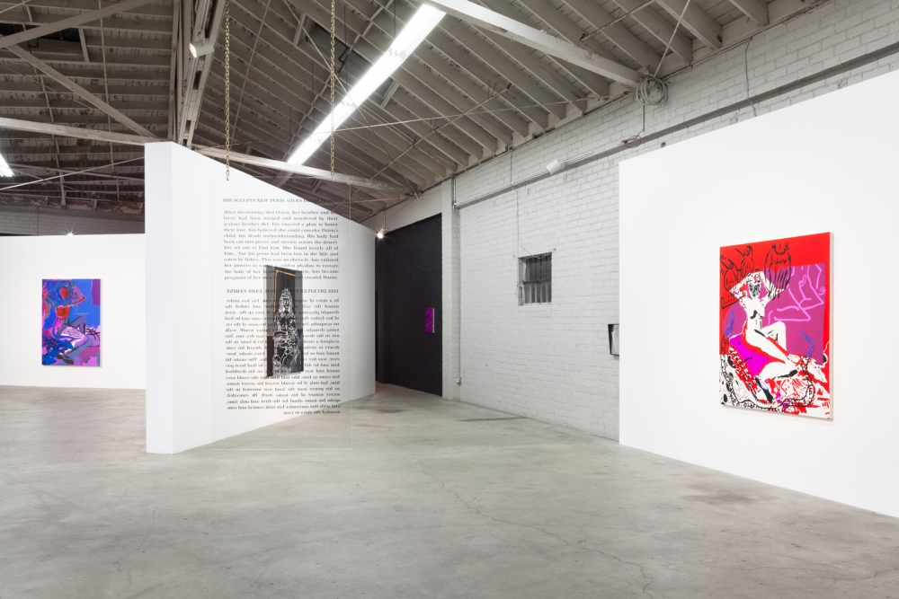 Installation view, Is She Is She Psychic, 2015