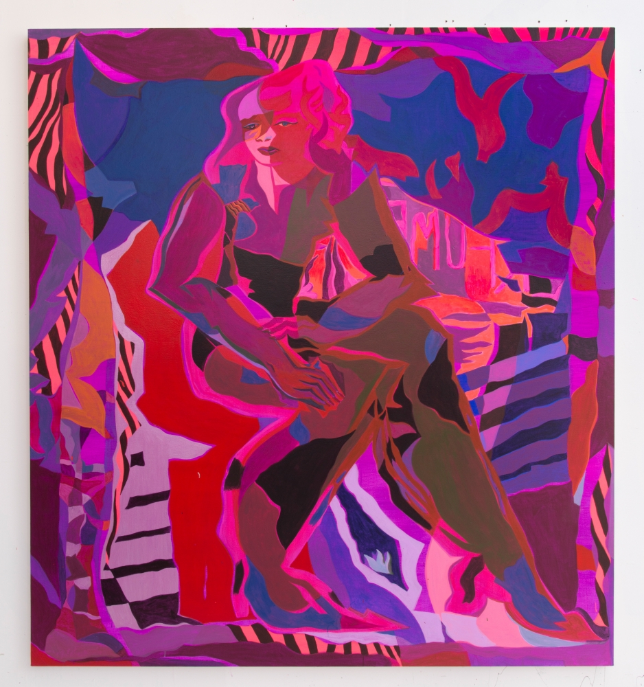 """Mira Dancy, """"Shadow Bloom,"""" 2016"""