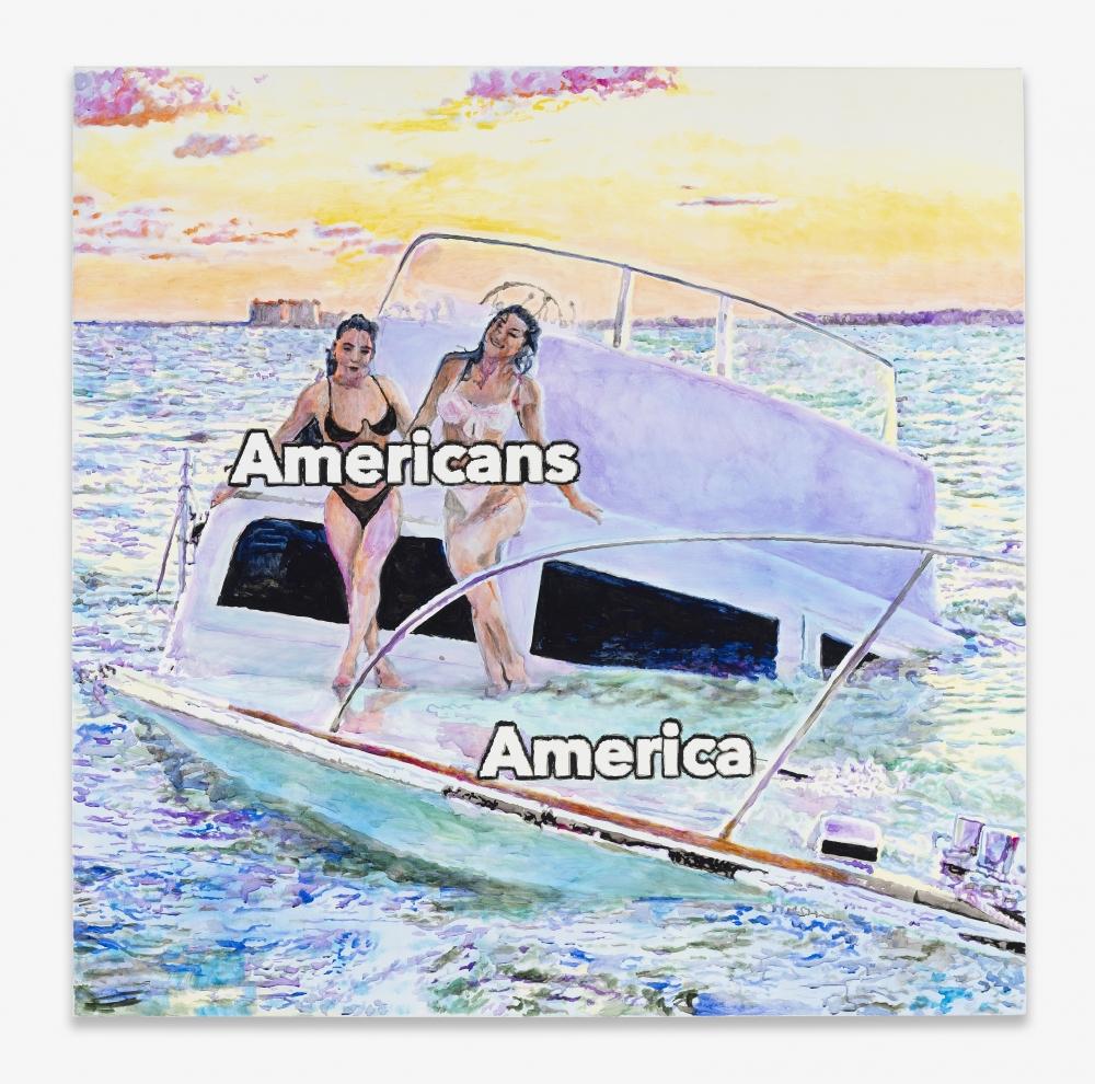 "Christine Wang, ""Americans,"" 2020."
