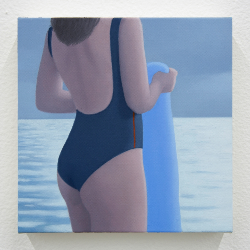 "Ridley Howard, ""Swimsuit and Towel #3, Storm,"" 2019"