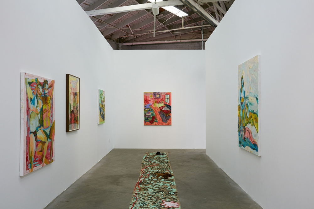 Alex Chaves, The Amerikan Green Cross, installation view, 2015.