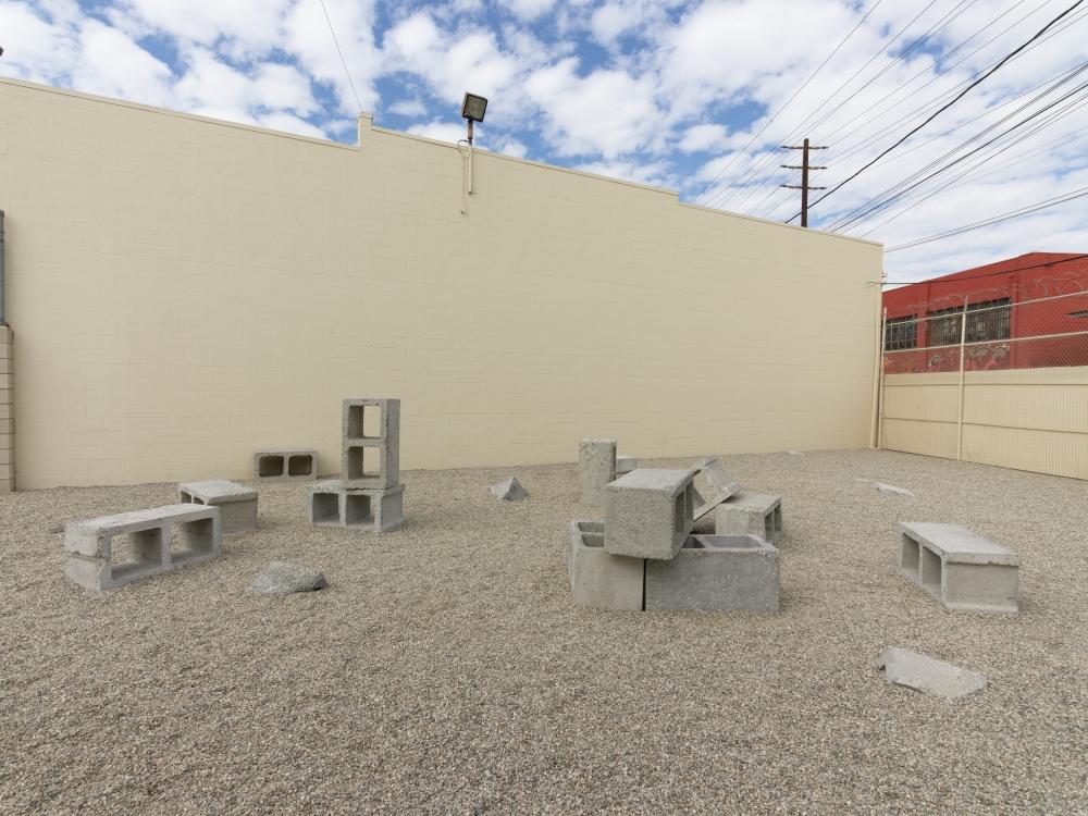 Josh Callaghan, Social Block, installation view at Night Gallery, 2020.