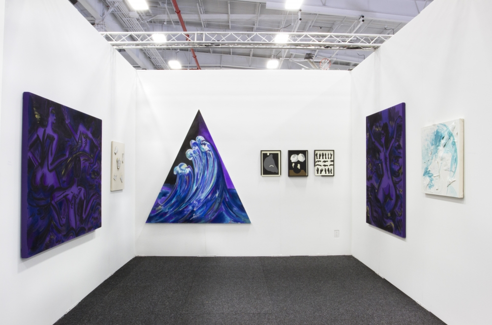 Installation view, NADA New York, 2013