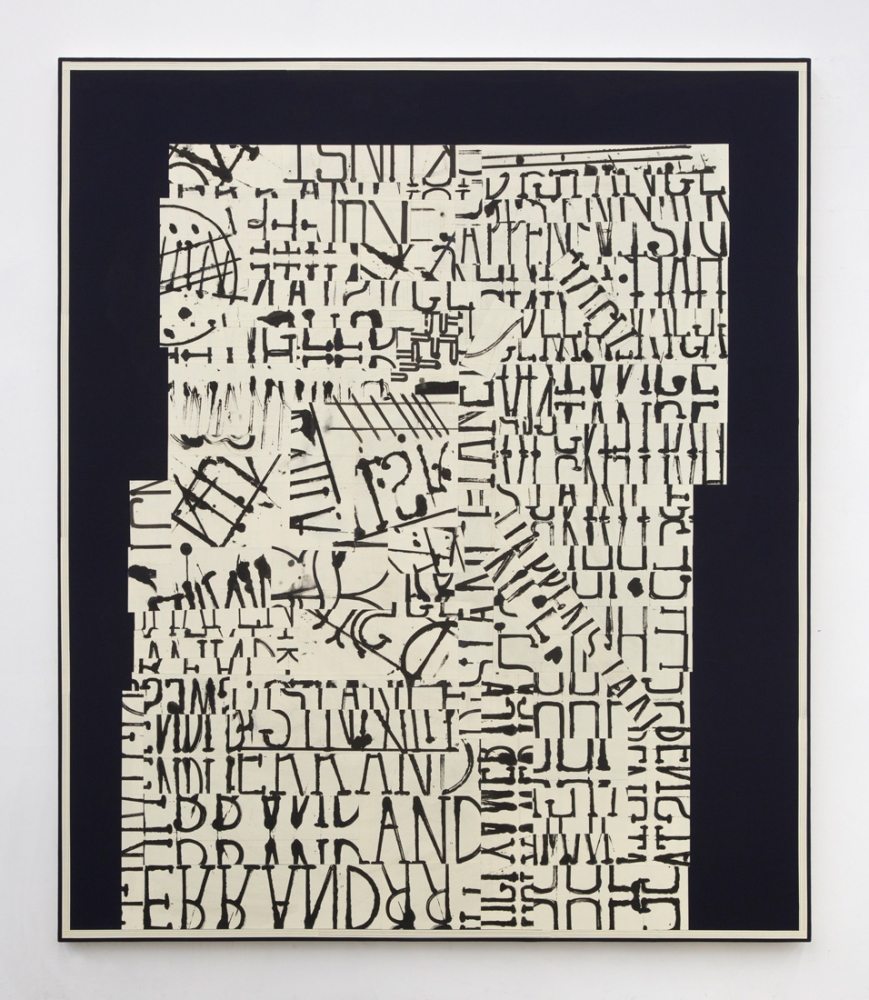 "David Korty, ""word painting (happenstance),"" 2016"