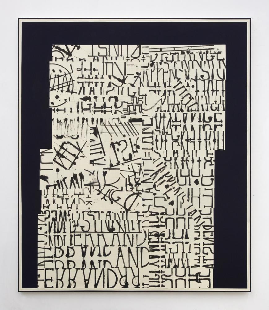 "David Korty, ""word painting (happenstance),"" 2016"
