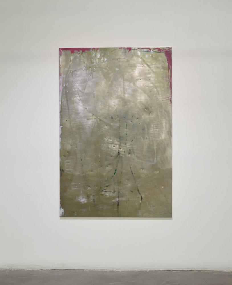 """Mama,"" stainless steel, enamel, 2016"