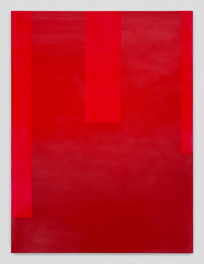 "Wanda Koop, ""In Absentia (Carmine Red-Pure Red),"" 2017"