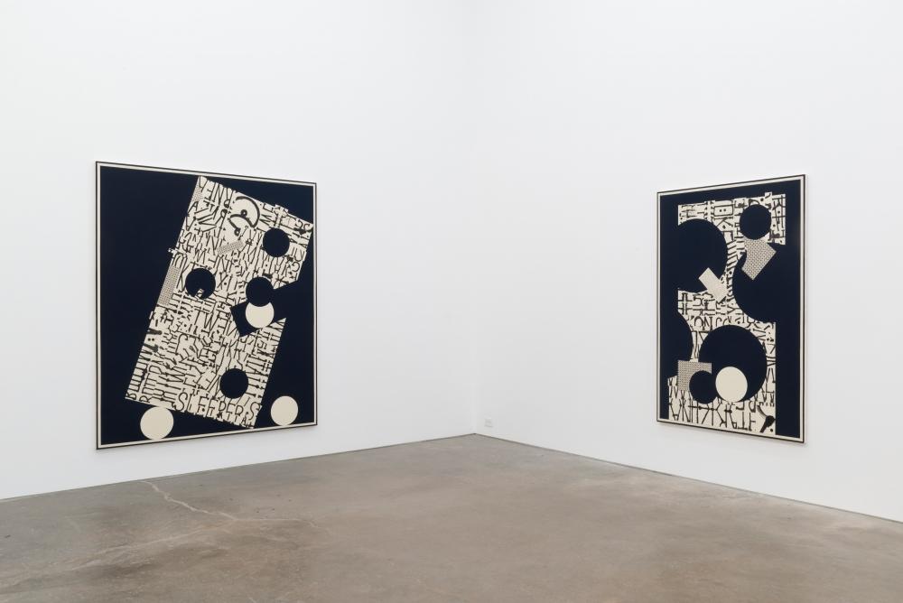 Sleeper, installation view at Derek Eller Gallery, 2017