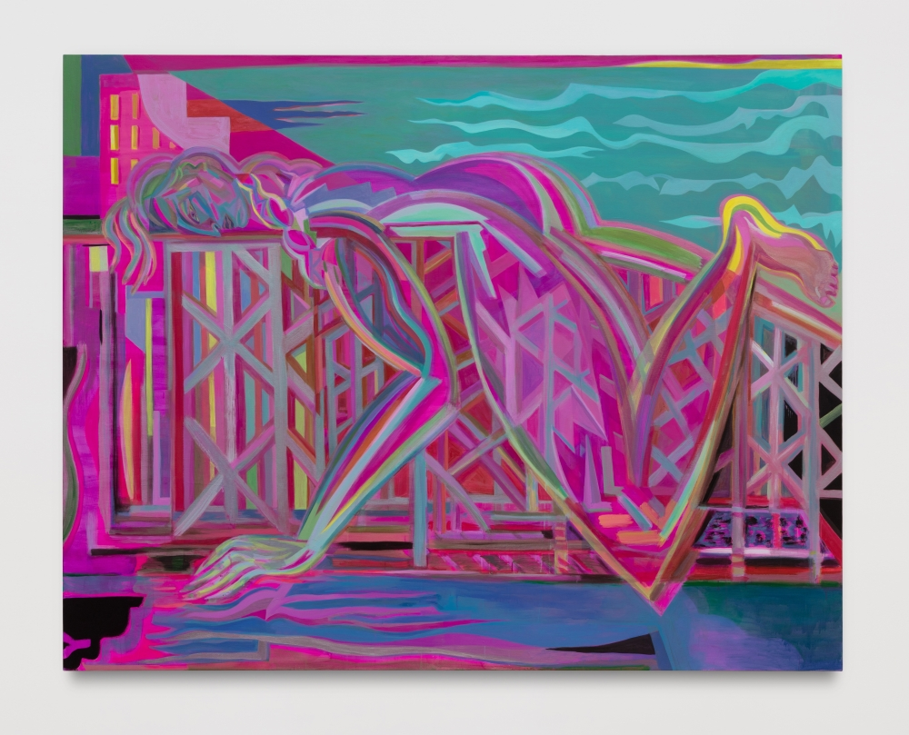 "Mira Dancy, ""Sunset Over the F,"" 2020."
