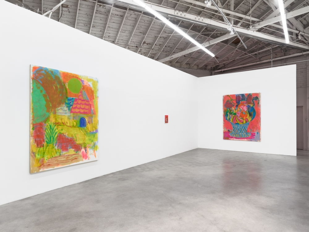 Michael Berryhill, Romancing the Stoned, installation view at Night Gallery, 2019.