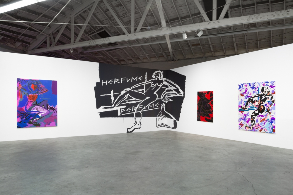 """Is She Is She Psychic,"" installation view, 2015."
