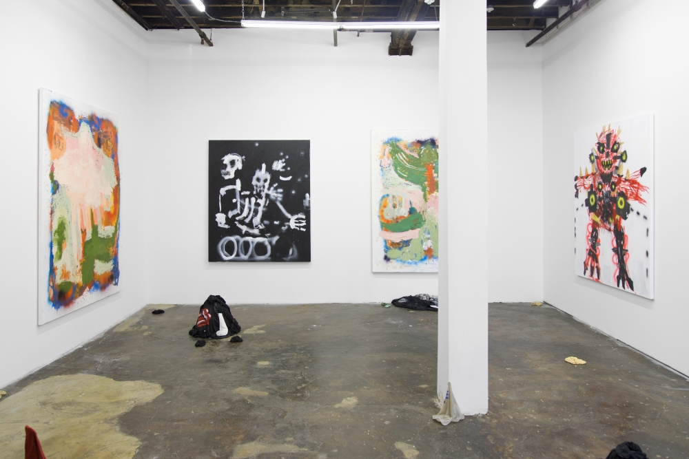 Person, Place of Thing, Installation view at Safe Gallery, 2018