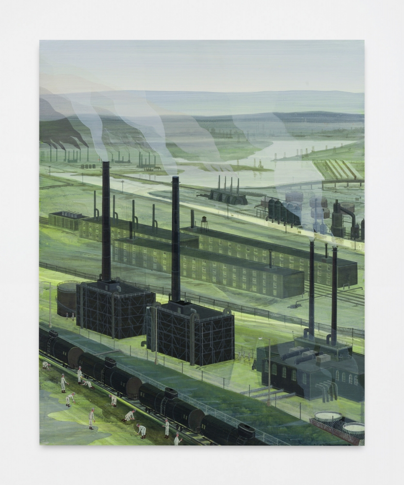 "Ian Davis, ""Industry,"" 2018"