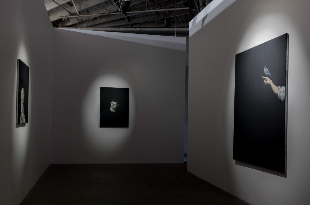 Midnight Sun installation view, 2014.