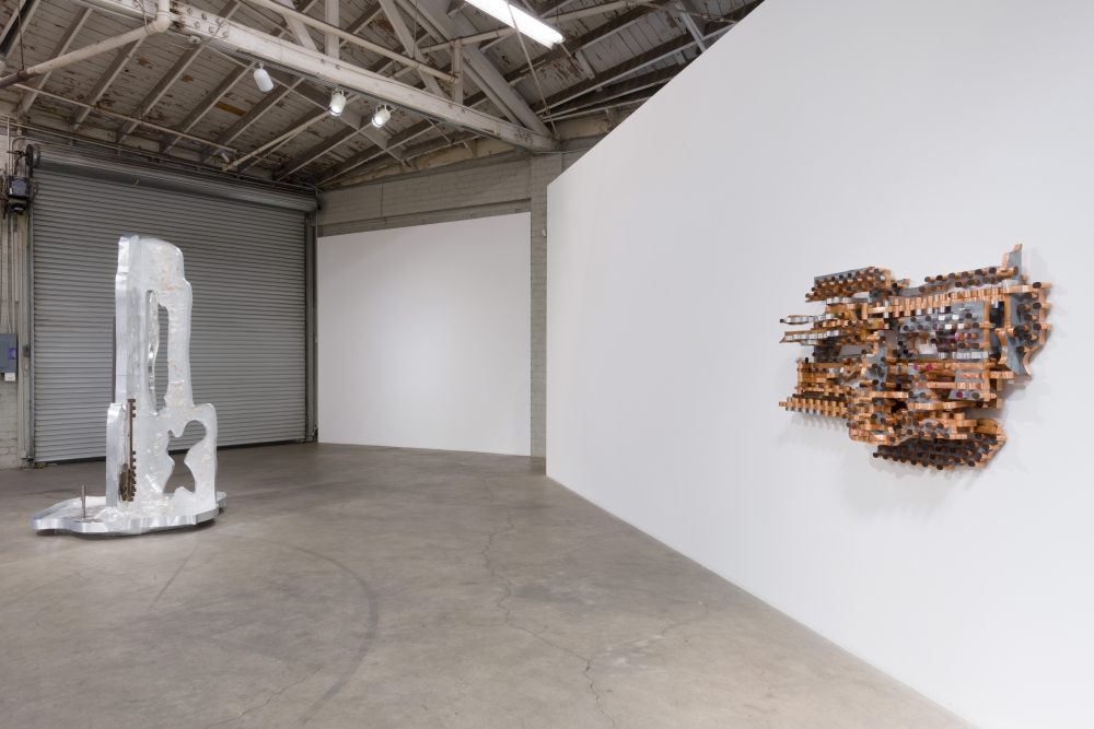 Installation view, Earthflash, 2018.