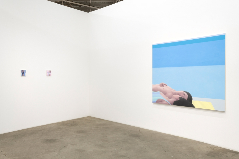 Ridley Howard, Shapes and Lovers, installation view, 2019.
