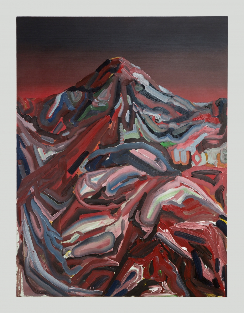 """""""Mt. Wilson (Western VII),"""" 2016."""