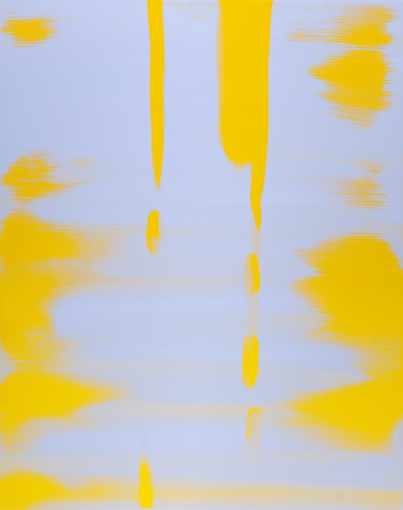 """Reflect (Blue Lavender, Mustard Yellow),"" 2018"